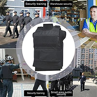 Harlls Men Women Security Guard Vest Stab-Resistant Vest Breathable Genuine Tactical Vest Clothing Waterproof Protecting Clothes