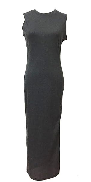 Frauen Elegant Slim Fit Kleider Unter Knie Etuikleider Slit Side ...