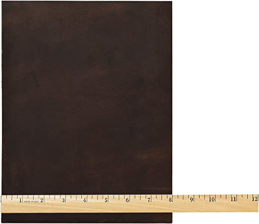 8 by 11-Inch Brown Realeather Crafts C0811-12 Leather Triumph Trim-Piece