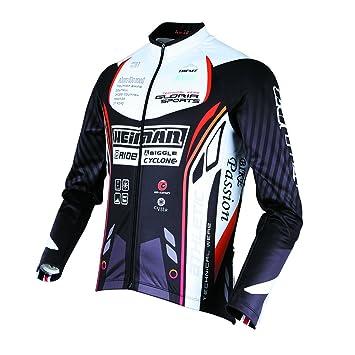 78ce70f54 Amazon.com  HEIMAN Men Women Thermal Long Sleeve Outdoor cotton flannel  Cycling Jersey Team Wear (GLS-532) (M)  Car Electronics