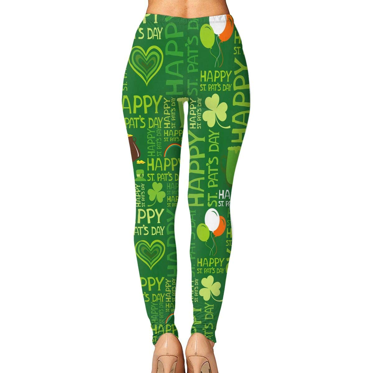 01b6eefc71fc9 Amazon.com: St.Patrick's Day Yoga Pants for Women Compression Pants Running Tights  Leggings Gym Tights: Clothing