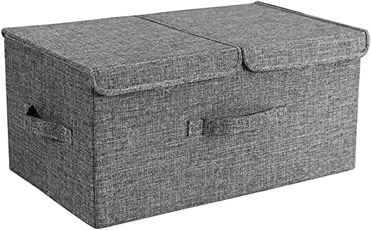 YShop Cajas de Almacenamiento con Tapas, Cubo Plegable Caja de ...