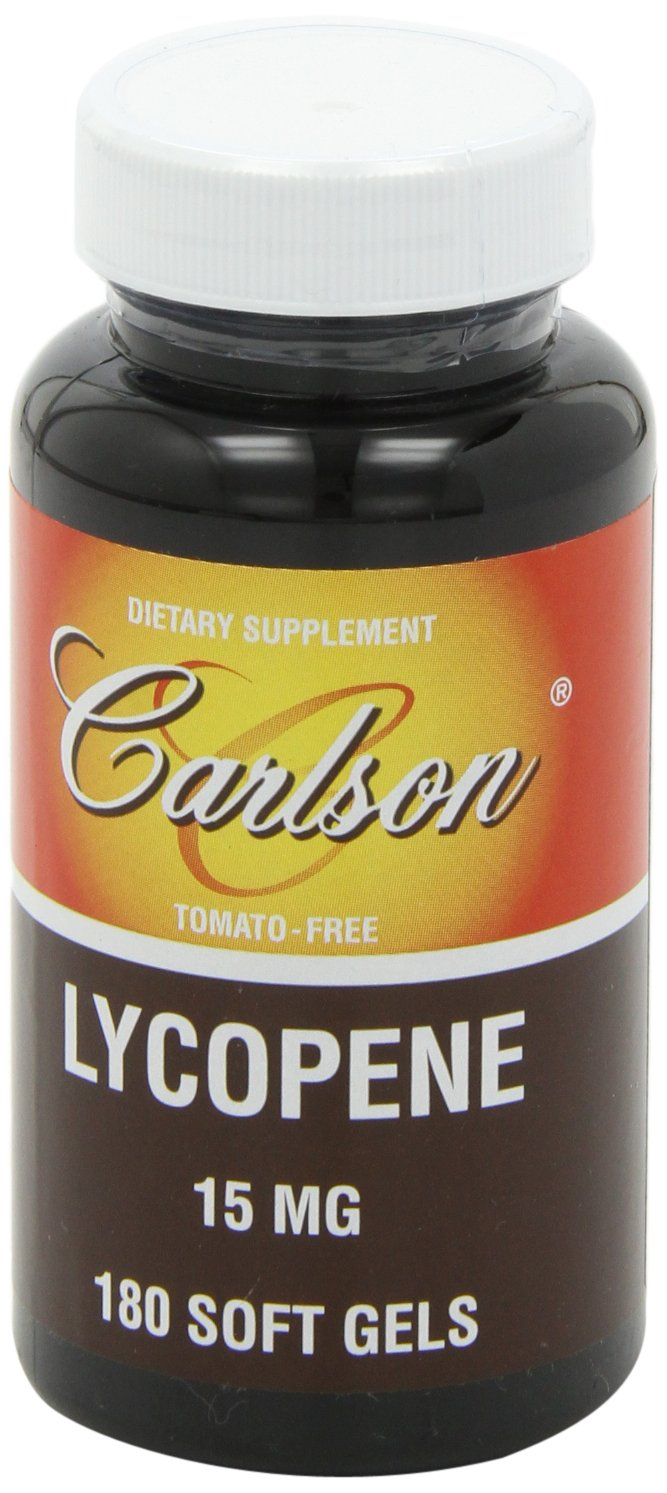 Carlson Labs Lycopene, 15mg, 180 Softgels by Carlson (Image #9)