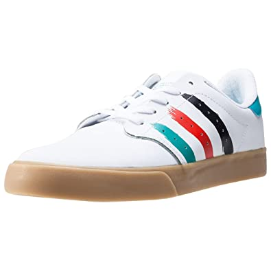 c12cd70a2f4 adidas Mens Originals Mens Seeley Court Trainers in White - UK 9.5