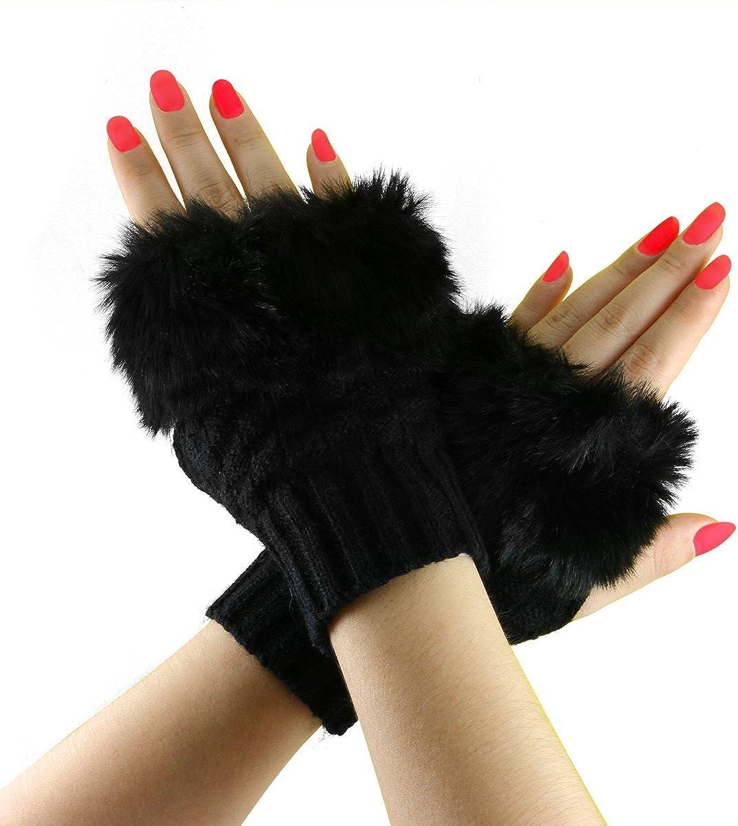Women Winter Warm Knitted...