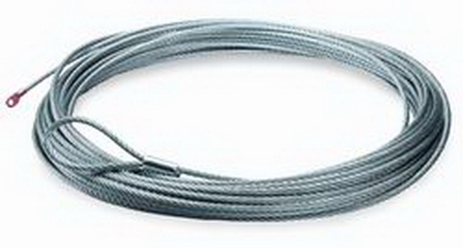 Warn 38423 125' x 3/8'' Wire Rope for M12000 Winch
