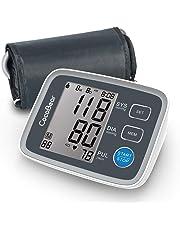 Misuratore di Pressione Sanguigna, Monitor di Pressione automatico del Braccio Superiore CocoBear Digitale con Monitoraggio dell'Aritmia 2 * 90 Misurazioni della Memoria