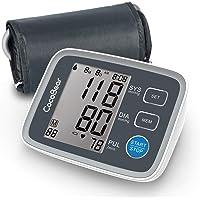 Tensiómetro de brazo, CocoBear monitor de pulsera de presión arterial de en la parte superior del brazo, almacenamiento de memoria 2 * 90