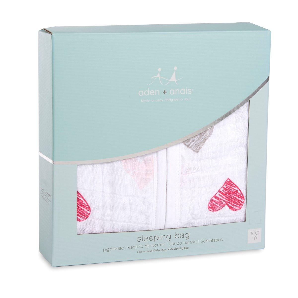 1/Tog Anais Classic muslin Sleeping bag da 6/a 12/mesi misura media Aden colore: Rosso//Giallo//Verde