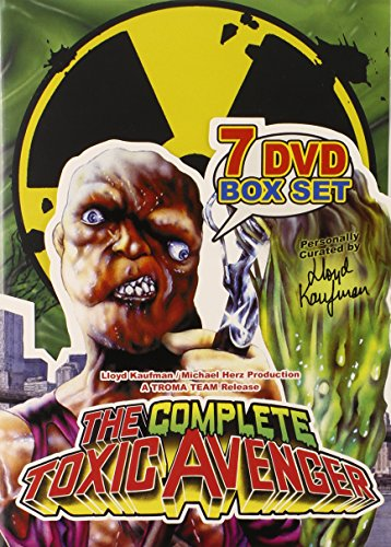 rank movies quot the complete toxic avenger 7 dvd box set