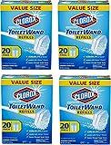 Clorox ToiletWand Disinfecting Refills, 20 Count (4 Pack)