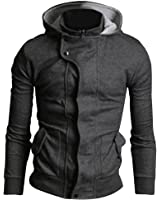 New Men's Slim Fit Outwear Hood Hoodies Sweatshirt Top Hoodie hoody Jacket Coat