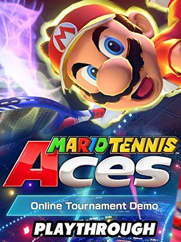 Clip  Mario Tennis Aces Demo Online Tournament Demo Gameplay