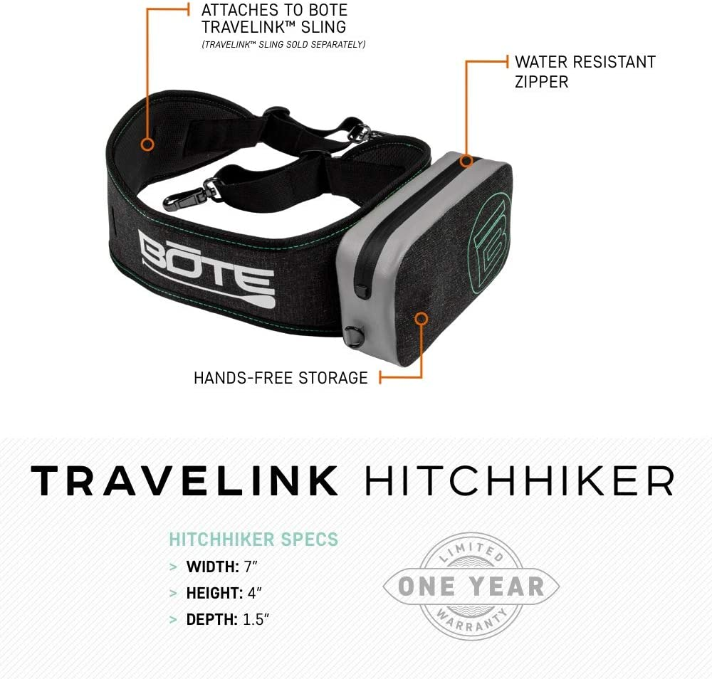 Compatible with Travelink Sling Stand Up Paddle Board Accessory Pack for Extra Storage BOTE Travelink Hitchhiker