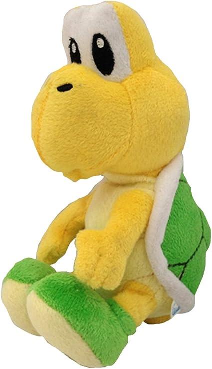 Amazon Com Super Mario Bros Plush Toy Green Koopa Troopa Soft
