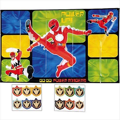 Power Rangers Party Game (Power Ranger Games Power Ranger Games)