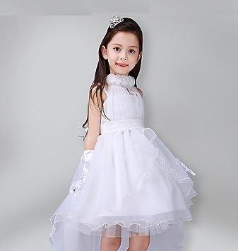 Niñas Vestido de Novia - Little Vestido de Novia Traje de la ...