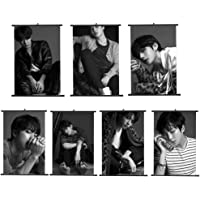 Lavendei BTS K-pop Poters BTS Love Yourself Jimin Suga Bangtan Boys - Wings Silk Print Poster Affiche en Soie - Silk Printing - (30 x 21cm)