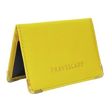 Fusion - Tarjetero de piel para billetes de transporte y tarjetas ...