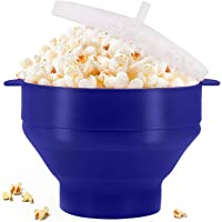 Original Microwaveable Silicone Popcorn Popper, BPA Free Collapsible Hot Air Microwavable Popcorn Maker Bowl, Use In…
