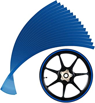 16-19 inch Wheel Rim Tape Stripes for Motorcycle or Car available in 5 widths