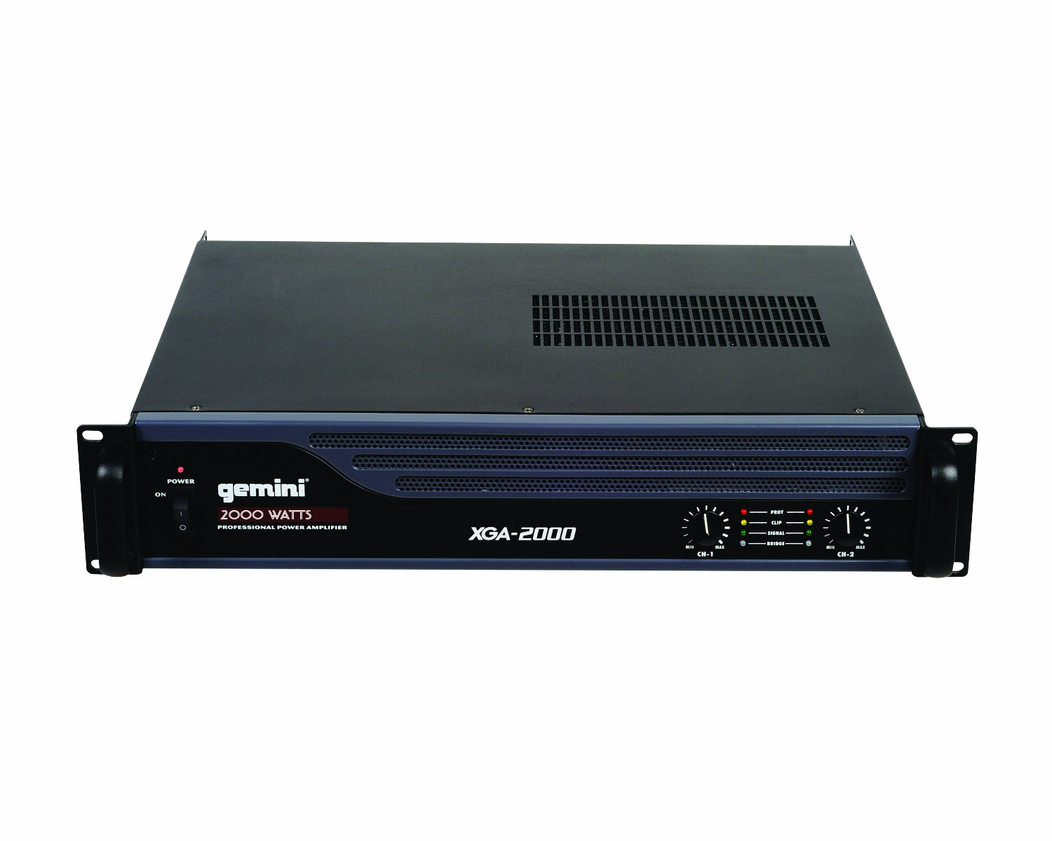 Gemini XGA-2000 Bridgeable PA Amplifier with Limiter - 2000W: Amazon ...