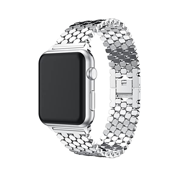 Amazon.com: Sandistore Compatible for Apple Watch Band 38mm ...