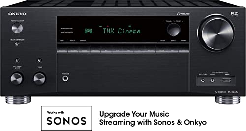 Onkyo TX-RZ730 9.2 Channel 4k Network A V Receiver Black