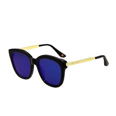 0b8c60b53f331 Jimmy Orange Oversized Polarized Sunglasses Mirror Men Women Sun Glasses  J5103 BKBU