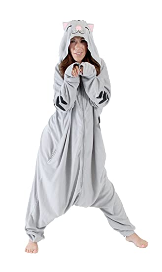 The Big Bang Theory Soft Kitty Cat Hooded Kigurumi One Piece Pajama Costume