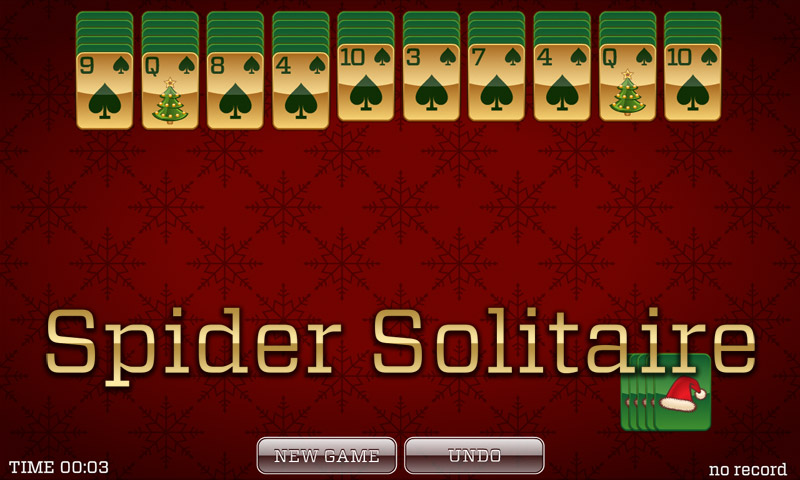 Christmas Solitaire - Spider Solitaire, Classic Solitaire, - Import