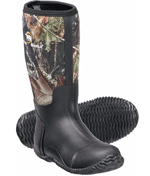 ArcticShield Men's Waterproof Hunting Rubber Boots