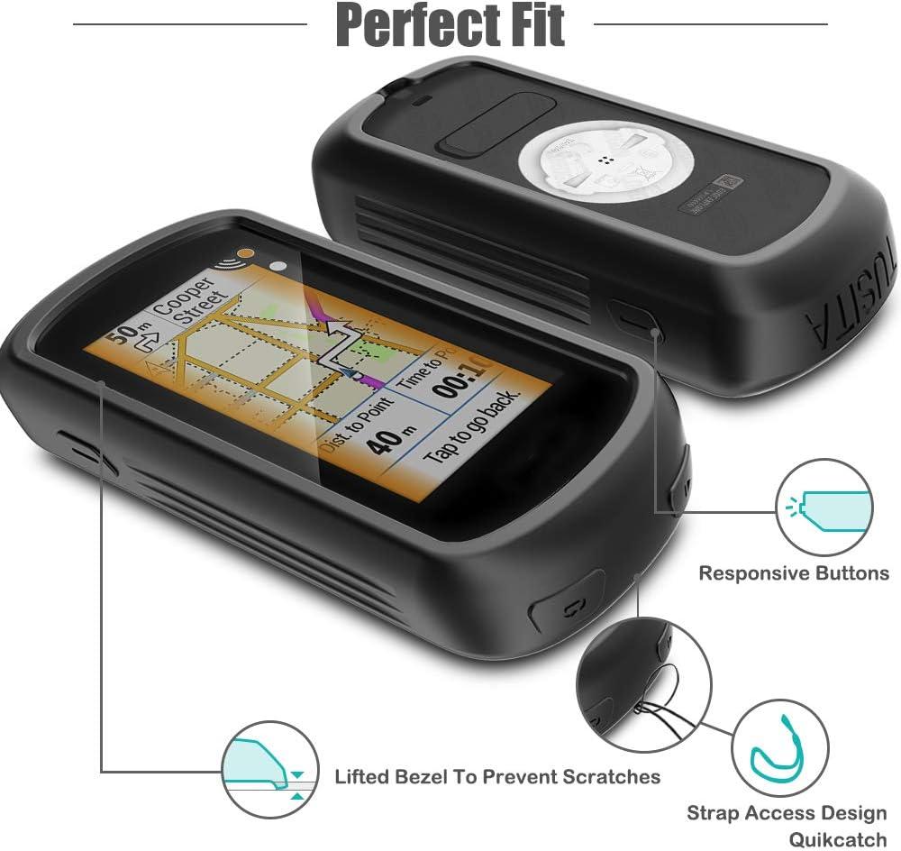 atFoliX Pel/ícula Protectora Compatible con Garmin Edge Explore L/ámina Protectora de Pantalla 3X antirreflejos y amortiguadores FX Protector Pel/ícula