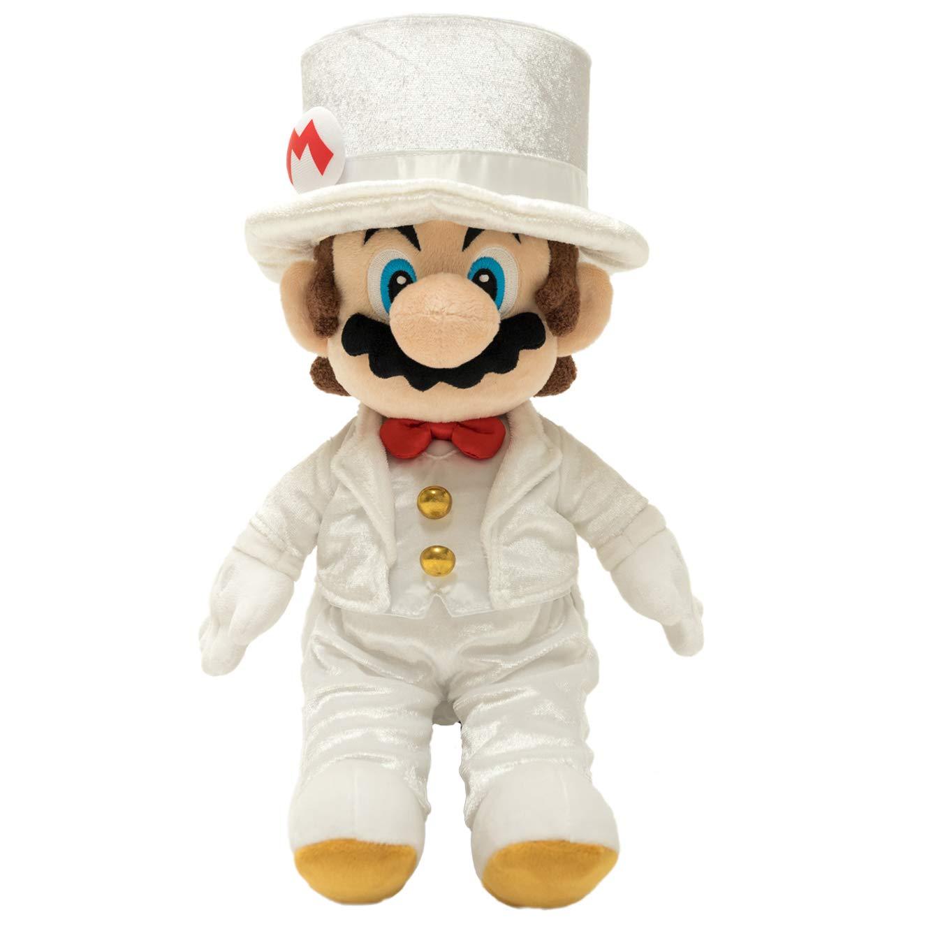 Little Buddy 1691 Super Mario Odyssey: Mario Groom (Wedding Style) Plush, 14'' by Little Buddy