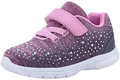 af0f4bfcc3ef9 G GEERS OS005 Toddler Kids Girl s Fashion Sneakers Casual Sports Shoes  Light Pink-5