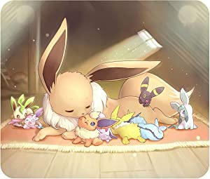 """Eevee & Evolutions - Mouse Pad - Standard Size: 10"""" x 8.5"""" - .25"""" Thick"""