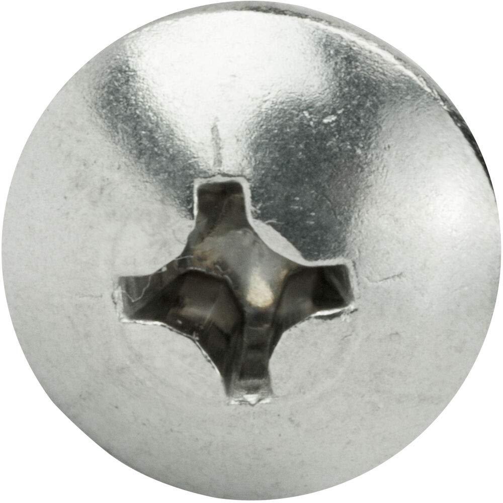 Truss Head Machine Screws Stainless Steel 18-8 Qty 100 10-24 x 1