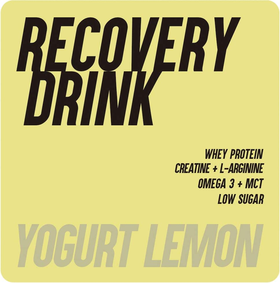 226ERS Recovery Drink, Recuperador Muscular con Proteína Whey, Creatina, Hidratos de Carbono, Triglicéridos y L-Arginina, Yogurt Limón - 1000 gr