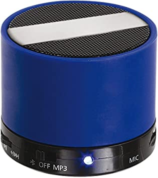 Clip Sonic Technology tes175b Altavoz Bluetooth para Smartphone/iPhone/Tablet/PC Azul/Negro: Amazon.es: Electrónica