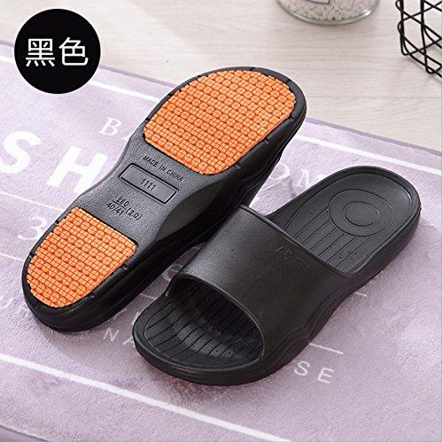 impermeabile fresca 36 spessore bagnato nbsp;La soggiorno uomini 35 pantofole outdoor antiscivolo e di estate soft pantofole nero Fankou female 5PqTT