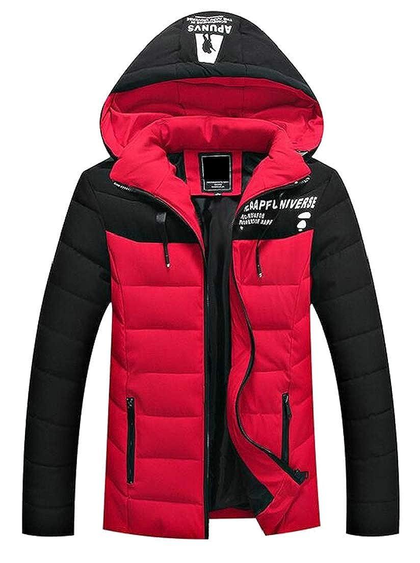 GenericMen Jacket Coat Slim Warm Jackets Hooded Winter Thick Coat