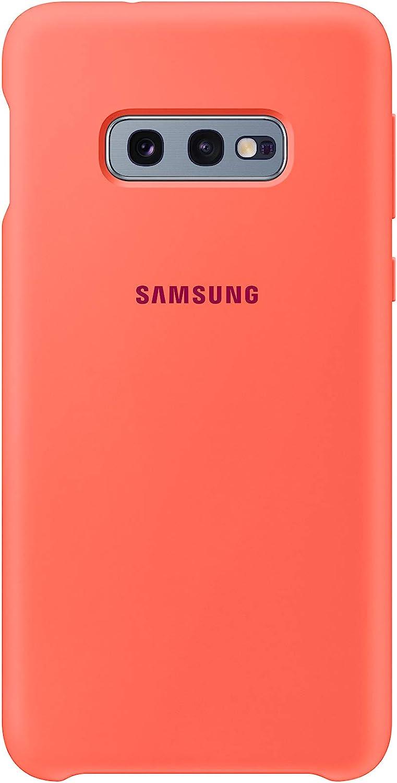 Samsung Silicone Cover, funda oficial para Samsung Galaxy 10e, color Rosa