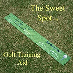 Improve distance and accuracy by practicing correct ball placement within your stance and shot alignment.        This training aid was developed by a golf student in collaboration with a golf pro to help new and experienced players pra...