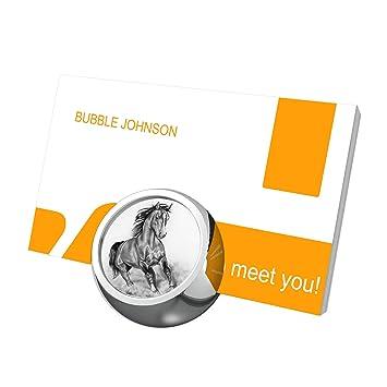 Futuroo En Metal Pour Cartes De Visite Ecran Bureau Luxe Carte