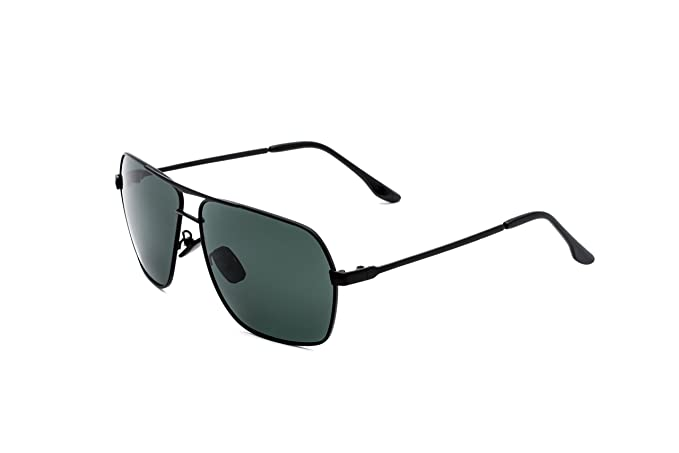 CHB Gafas de Sol Hombres Polarizadas Protección UV 400 Ligeras Para Hacer Ejercicio Con Estuche de