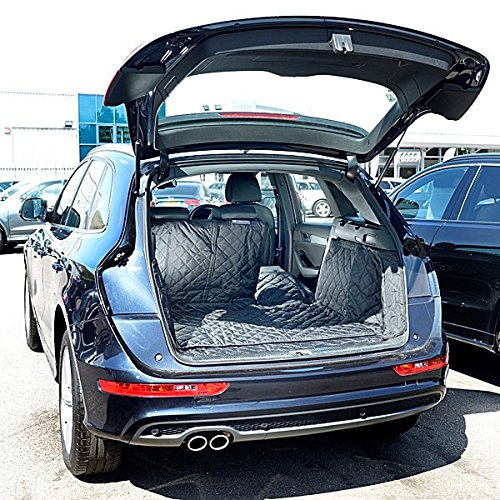 Audi Q5 SQ5 Cargo Liner Trunk Mat - Quilted, Waterproof & Tailored - 2008 to 2017 (Generation 1) by North American Custom Covers