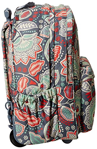 Vera Bradley Women s Lighten Up Rolling Backpack, Nomadic Floral 7cfc5a613d