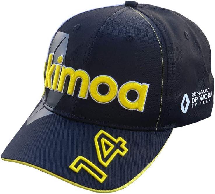 Curva Gorra de b/éisbol Kimoa Negro y amarillo Est/ándar Unisex Adulto