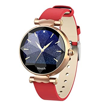 IHCIAIX Reloj Inteligente Reloj Inteligente para Mujer Dink Remind ...