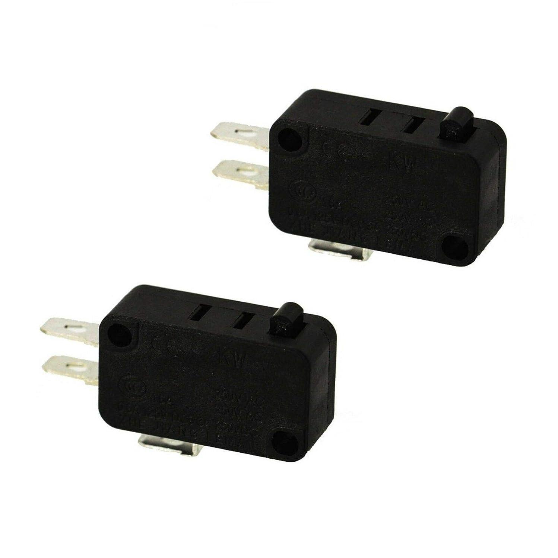 Amazon.com: 2 interruptores para puerta de microondas EXP490 ...